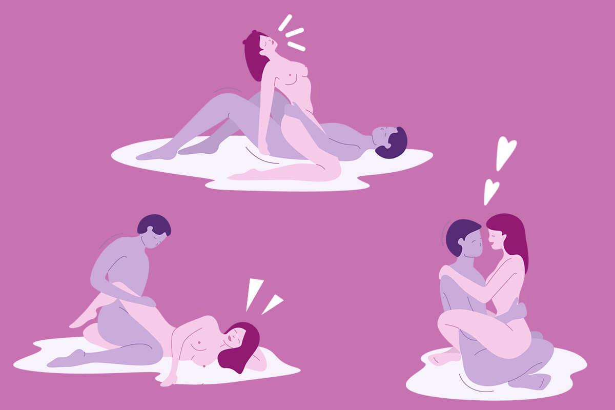Sex stellungen für paare